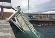 Strong Winds Wreak Havoc In Malaga