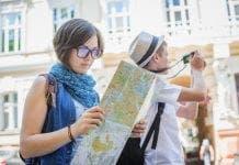 Tourists Malaga