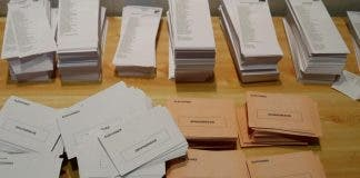 Voting Slips Spain