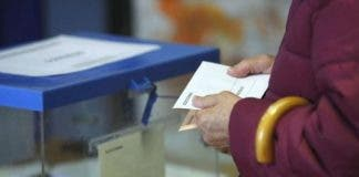 Woman Dies Before Voting In Spains Ge