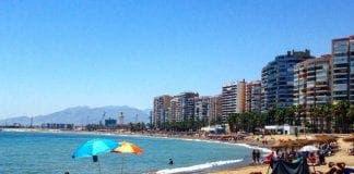 Beach Malaga Spain Wollak Photo 1