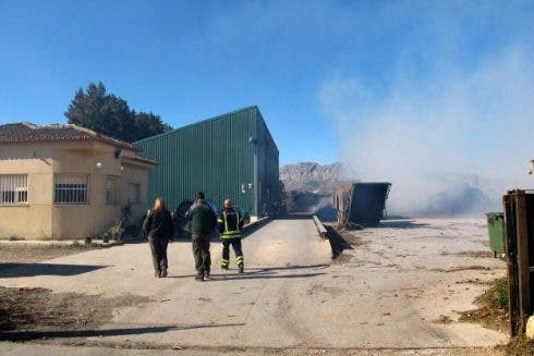 Denia Recycling Plant On Fire Again