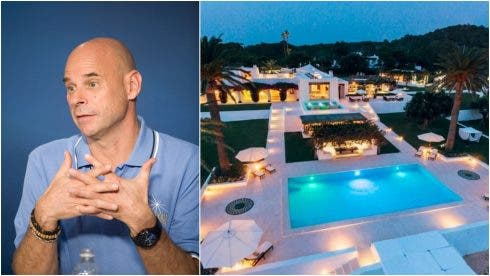 Billionaire Cirque du Soleil founder and hugely influential Ibiza resident famed for his orgies and expensive poker habit arrested for 'growing marijuana on private island'