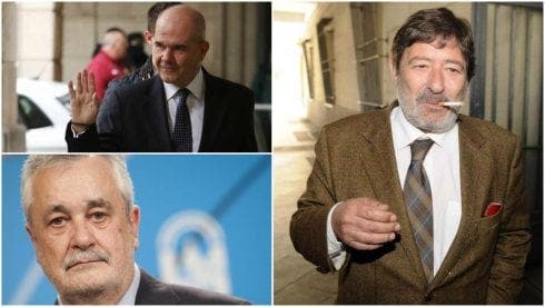 Ex-Junta de Andalucia president among 19 people jailed for total of 86 years in Spain's ERE corruption scandal
