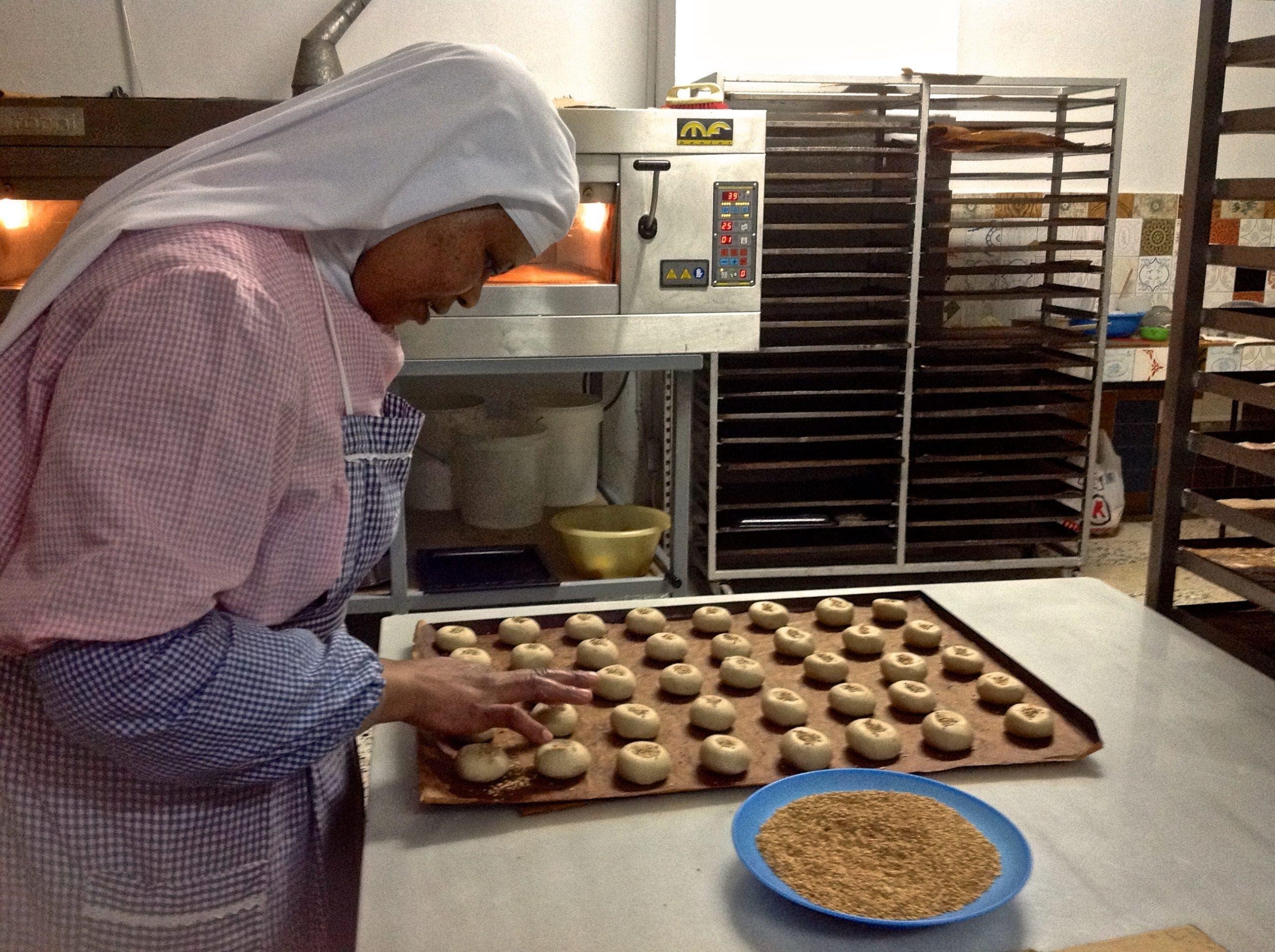 Adding The Sesame Seeds Photo Karethe Linaae