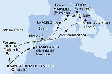 Falken Tours Itinerary