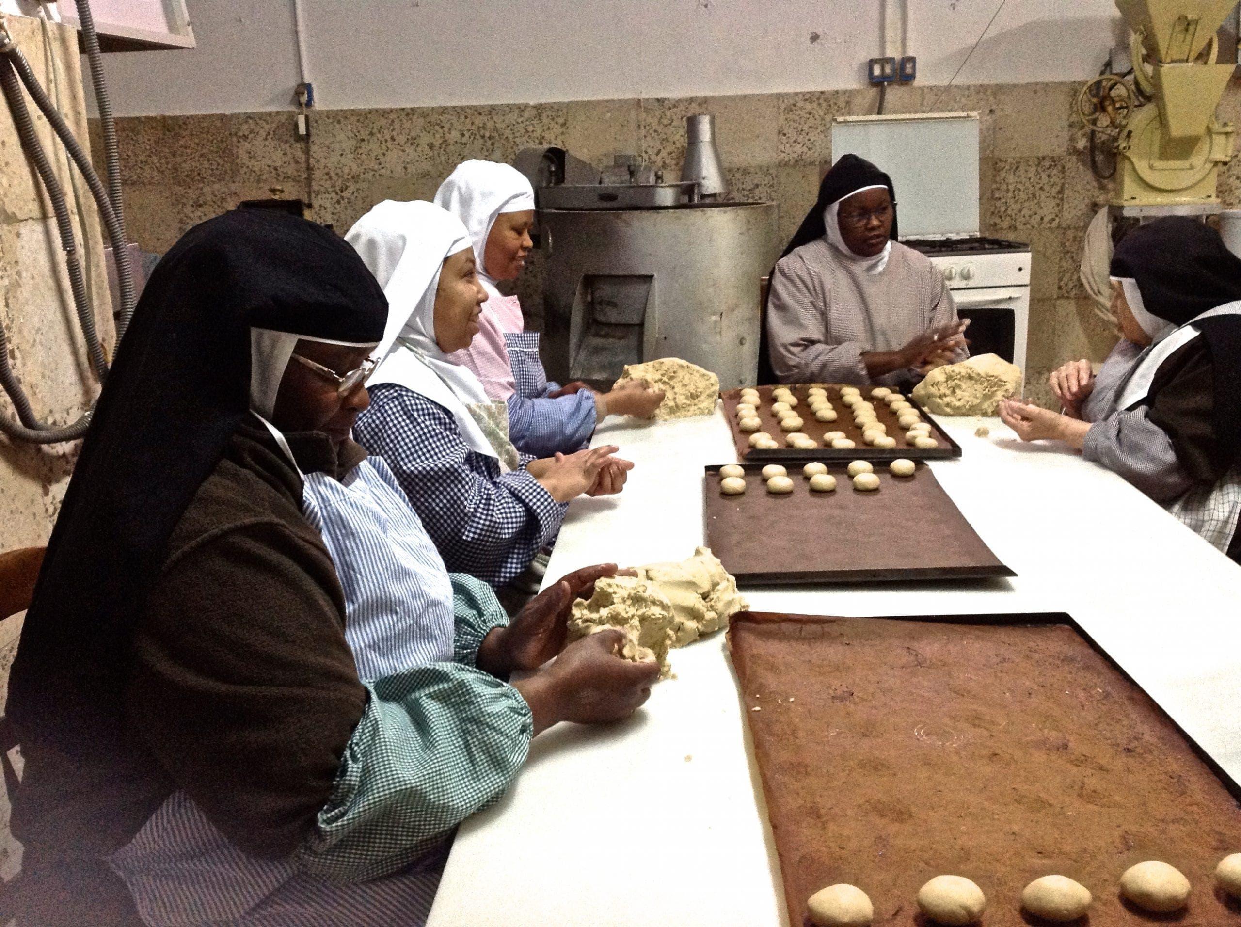 Nuns At Work 2 Photo Karethe Linaae