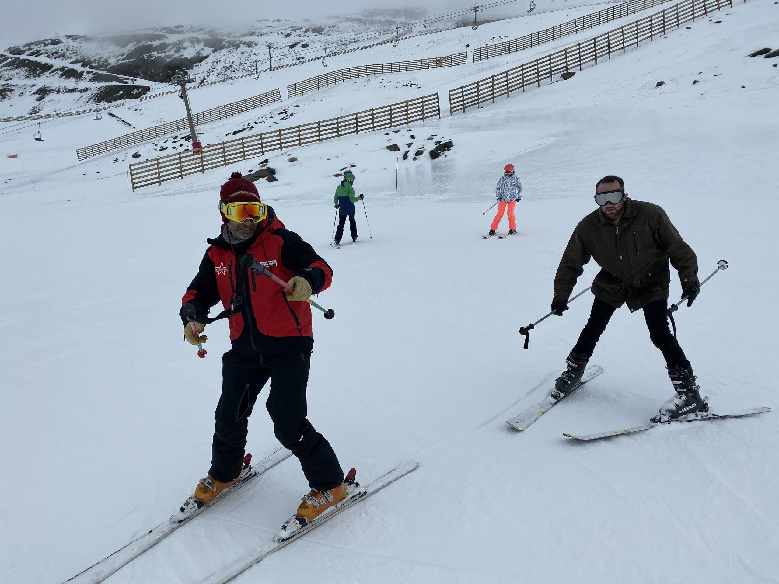 Ski Lesson A