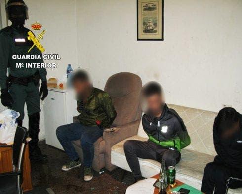Mar Menor Detained