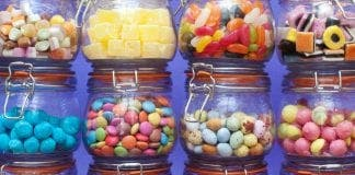 Old Retro Sweets
