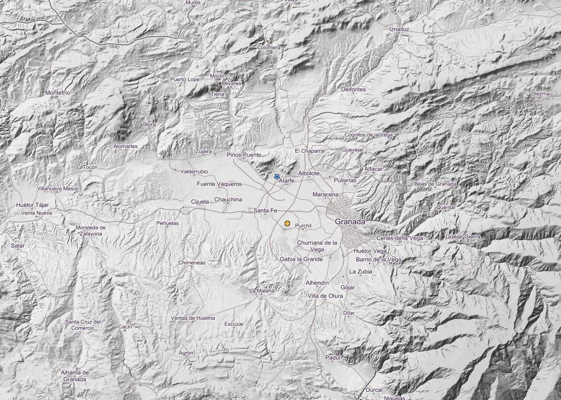 Registrado Un Terremoto De Magnitud 26 Con Epicentro En Atarfe