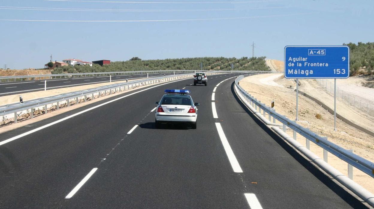 A45 Malaga Cordoba