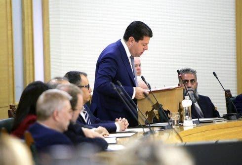 Fabian Picardo In Parliament