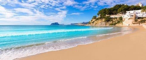 Playa El Portet Vistas Penon