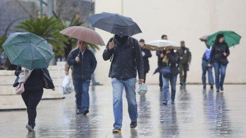The Costa del Sol is being kept on weather alert until Friday