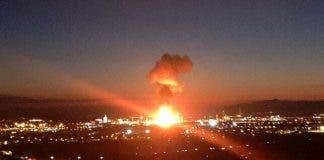 Explosion Tarragona