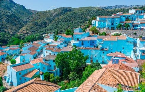 Juzcar The Smurf Village