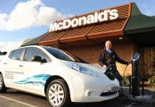 Mcdonalds Electric Car