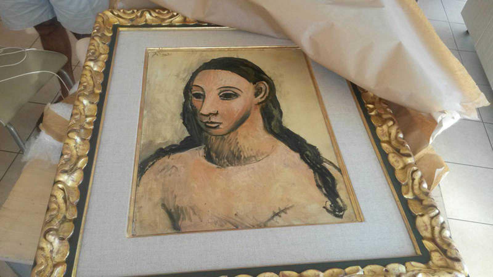 Picasso Cabeza De Mujer Joven