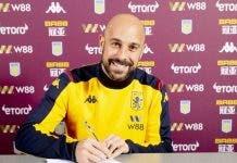 Reina Aston Villa