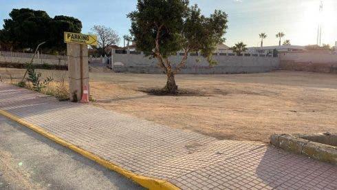 Rojales Temp Car Park 2