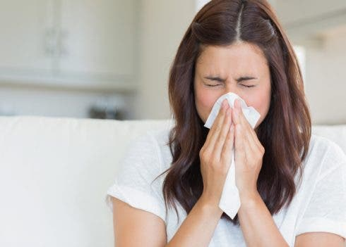Sneeze Woman
