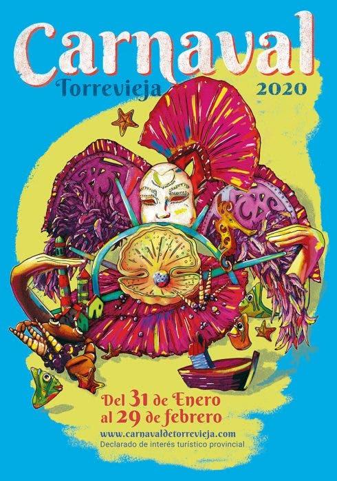 Torrevieja Carnival 2020 Poster
