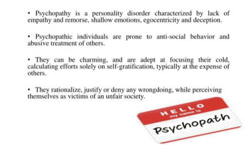 What Is Psychopathy Google Search