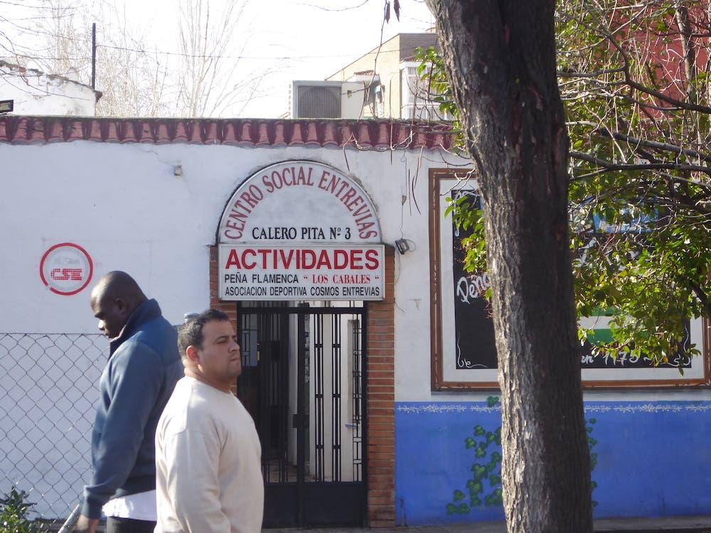 F Social Cente In Puente De Vallecas