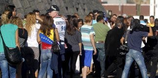 Venezuelans In Spain Vote In Elections