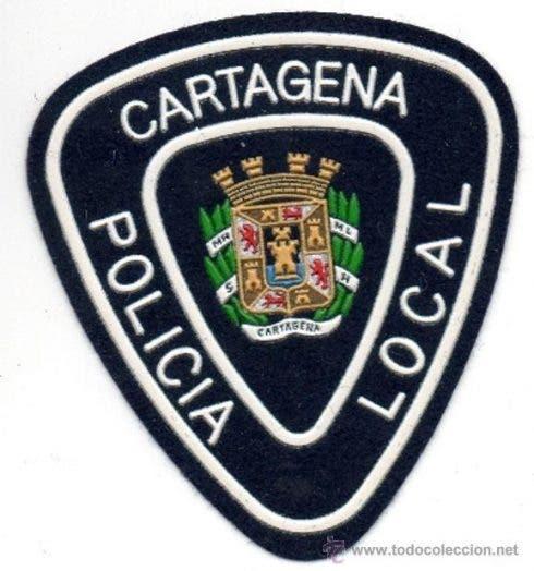 Cartagena Police Badge