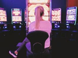 Casino Adult Woman Young