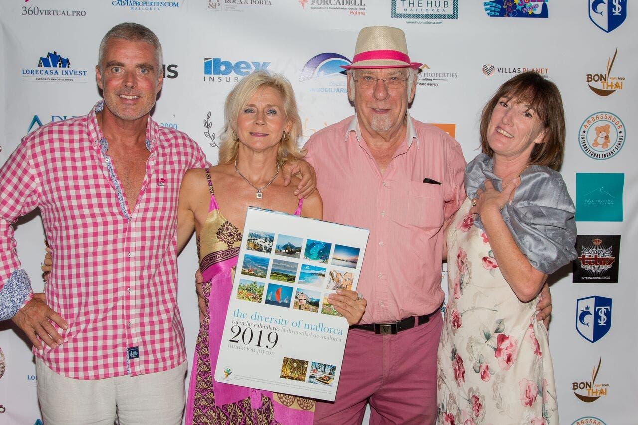 Last Years Event Flamingo Party At Od With Joyron Calendar Fundrasier