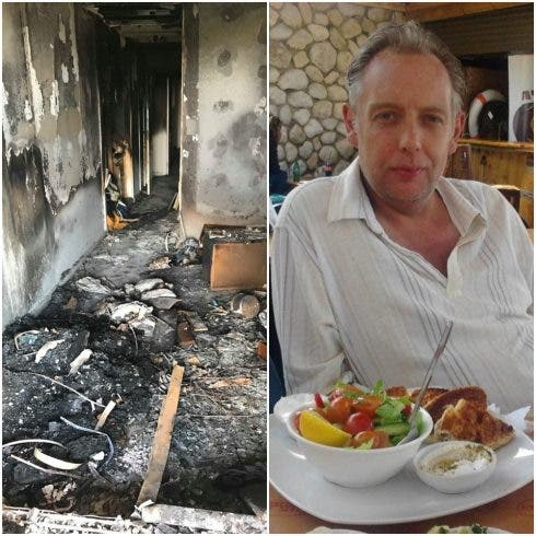 EXCLUSIVE: British expat who died after house fire was locked inside his home on Spain's Costa del Sol