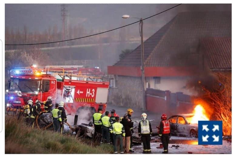 Plane Crash Navarra 1