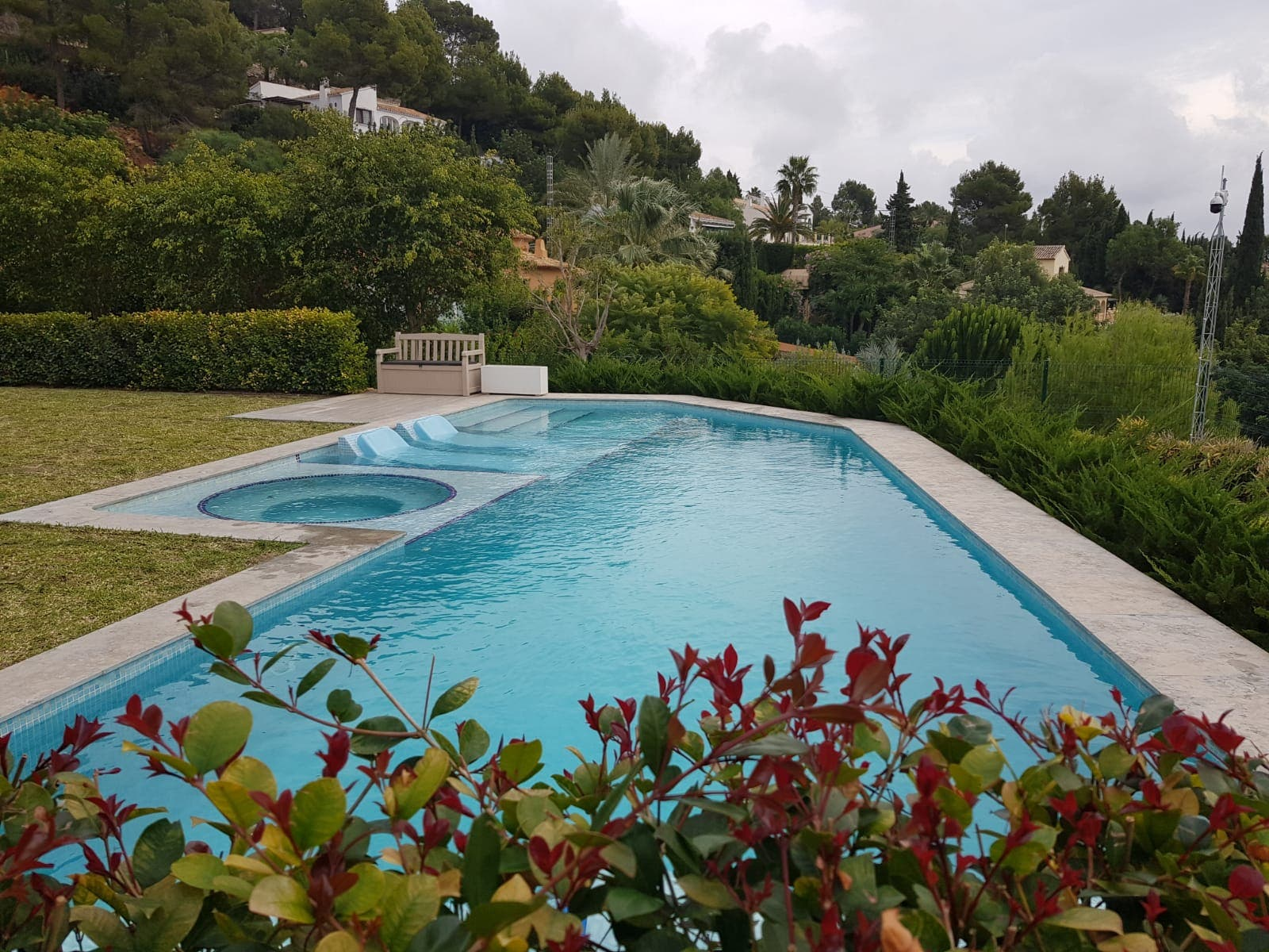 Real Example Of Swimming Pool Construction Javea Costa Blanca
