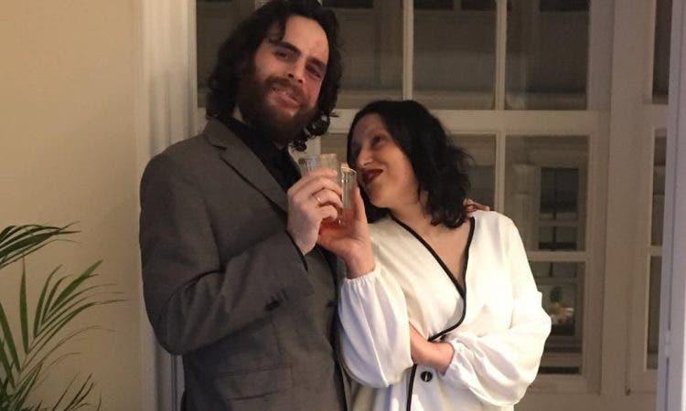 Alba And Daniel Wedding Pic Alba