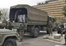 Army Arrives In Palma