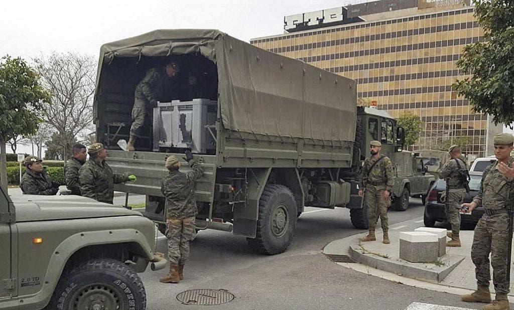 Army Arrive