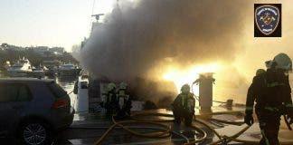 Puerto Portals Fire