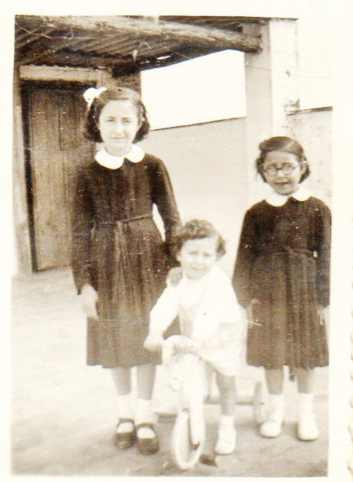Isabel Marquez Left Younger Sister Ana Right Younger Brother Paco Middle