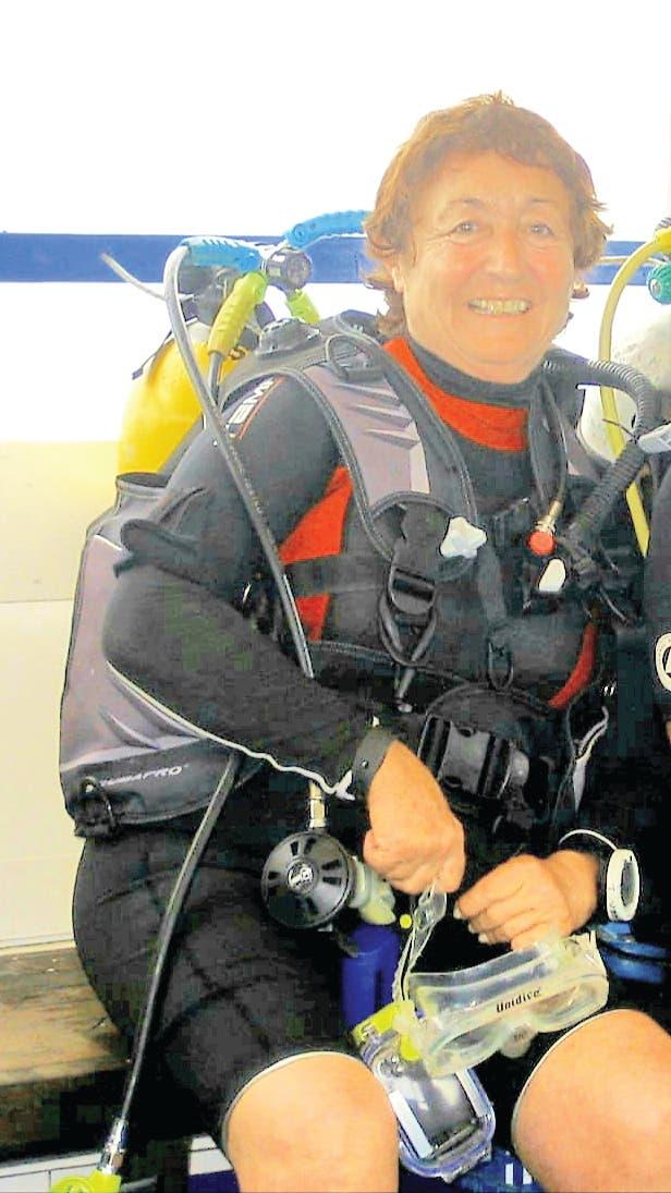Isabel Marquez Scuba Diving