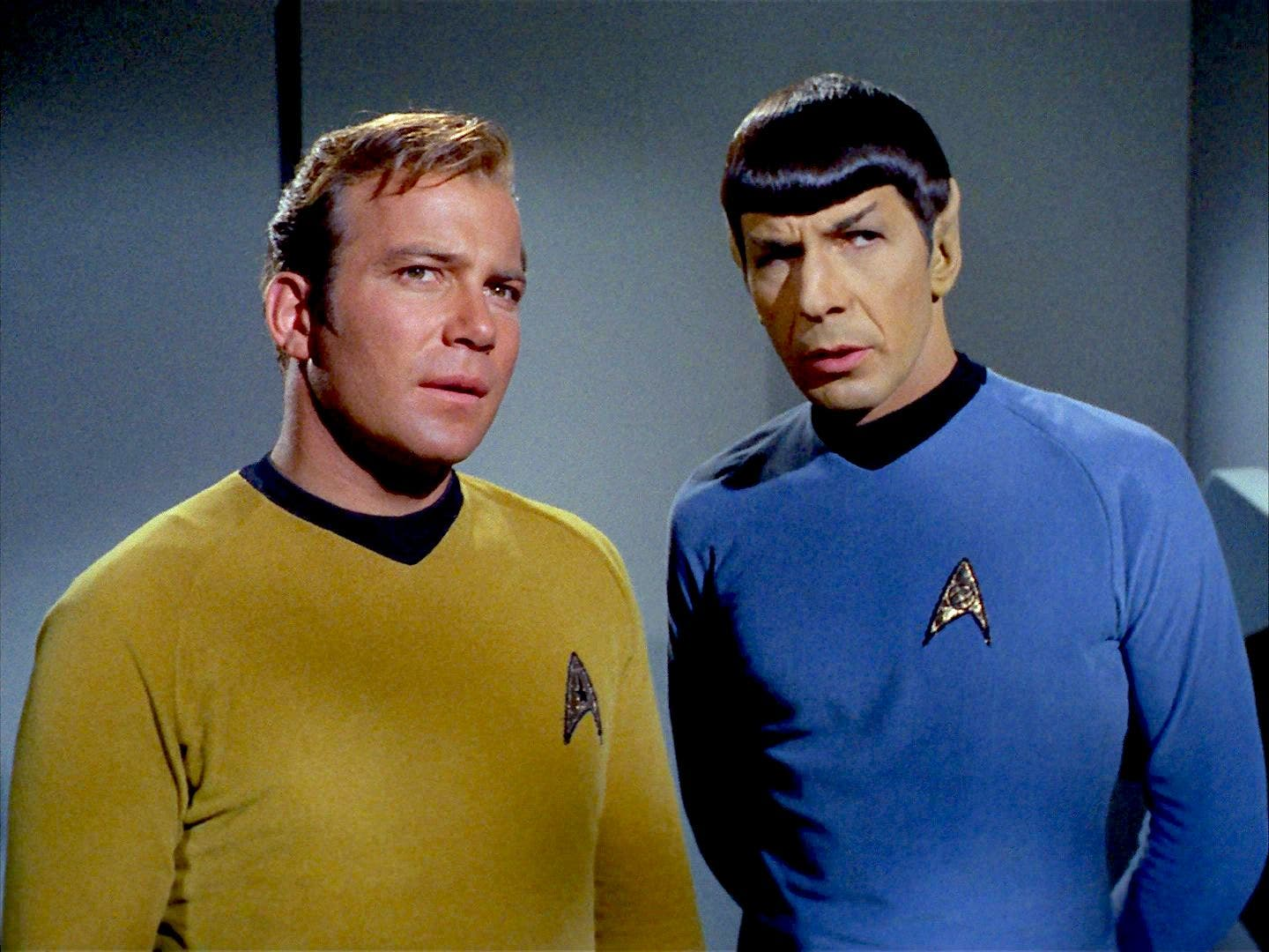 Jonathan Holdaway Captain Kirk And Spock 1