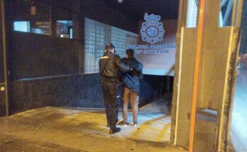 Murcia Arrests Calle Ovallo