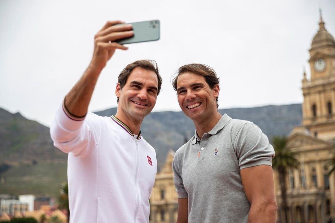 Rafa And Federer
