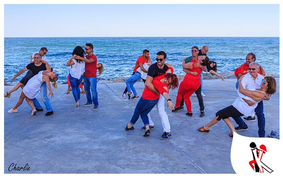 Sara Fernandez Vogelin Kizz Latin Dance Beach