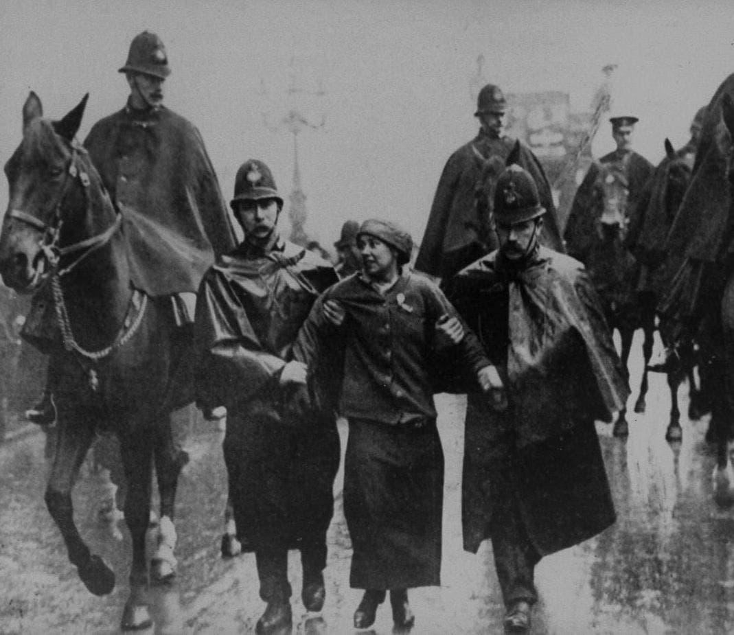 Sylvia Pankhurst Arrest 1913