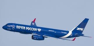 Russian plane Mallorca