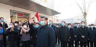 China Beijing Xi Jinping Coronavirus Control Inspection Cn