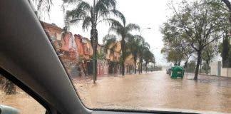 Floods Malaga